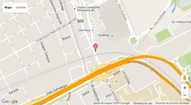 Villa De Mayo Google Maps